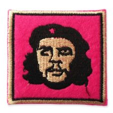 CUBAN REVOLUTION MOTIF IRON ON EMBROIDERED PATCH APPLIQUE